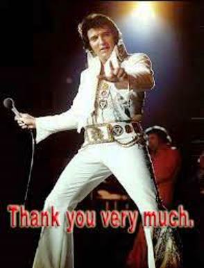Elvis Thank You 5