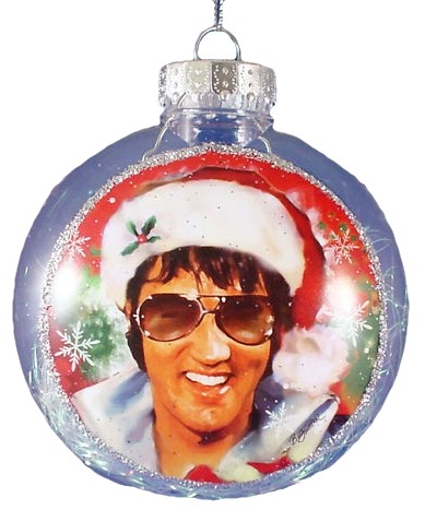 Christmas Ornament Elvis Santa