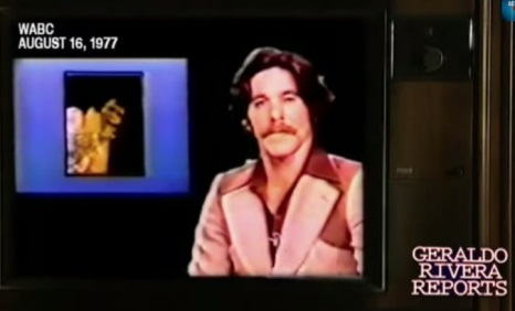 Geraldo Announcing Elvis' Death 1977