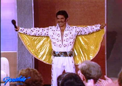 Geraldo in Jumpsuit on Elvis Mania