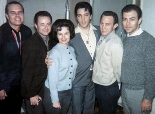 Millie Kirkham, Elvis and Jordanaires