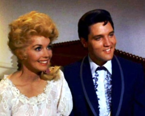 Donna Douglas and Elvis in Frankie and Johnny