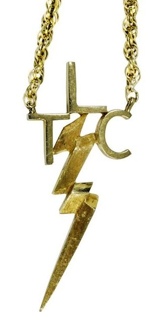 "Elvis' Gold ""TLC"" Necklace"