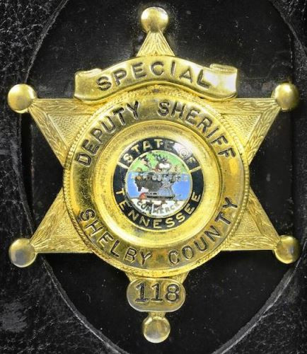 Elvis' Special Shelby County Deputy Sheriff Badge