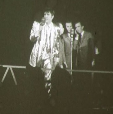 Elvis on stage 1957