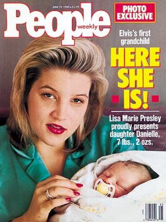 Baby Danielle Riley on People Mag Cover