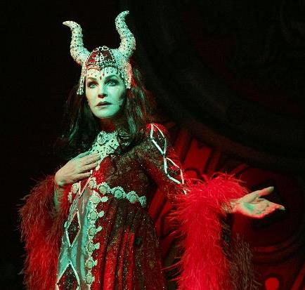 Priscilla Playing Wicked Queen in Snow White