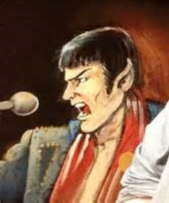 Spock Elvis At the Mic