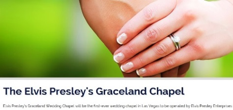 The Elvis Presley's Graceland Chapel