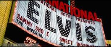 Elvis Headlining at International Hotel