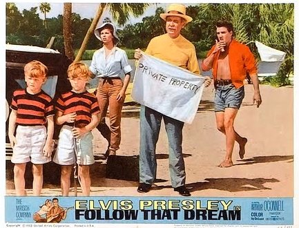 Follow That Dream - Lobby Card