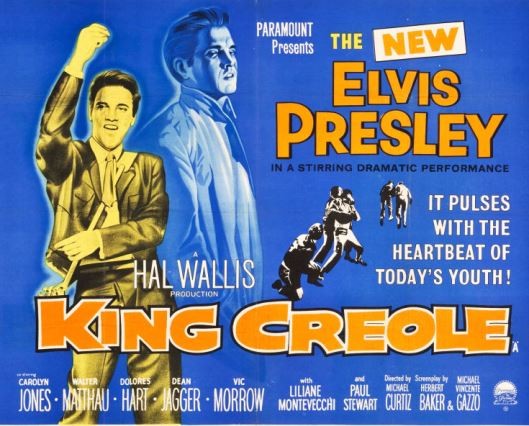 King Creole  Poster 2