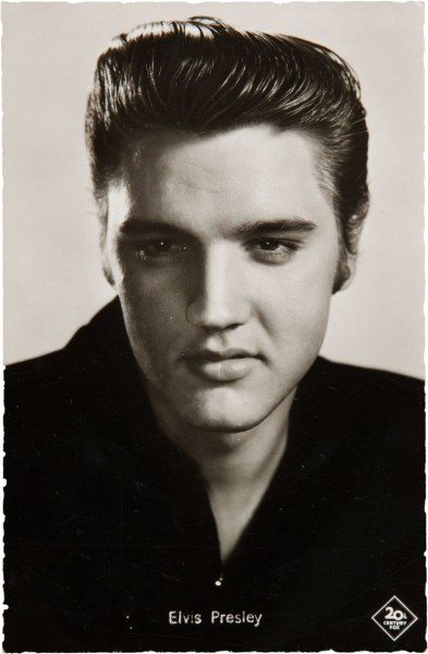 Elvis Signed Postcard
