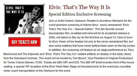 TTWII Special Elvis Week Screening