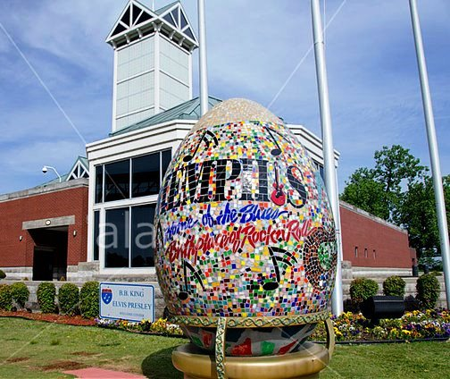 B.B. King and Elvis Presley Welcome Center - Memphis