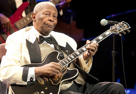 BB King at 86