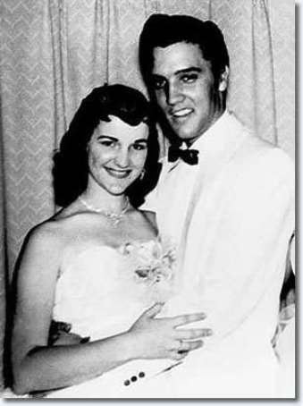 Dixie Locke and Elvis 1955