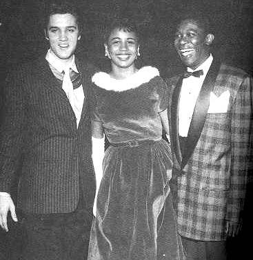 Elvis, Claudia Ivy and BB King