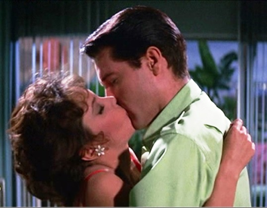 Elvis Kissing Mary Ann Mobley - Girl Happy 2