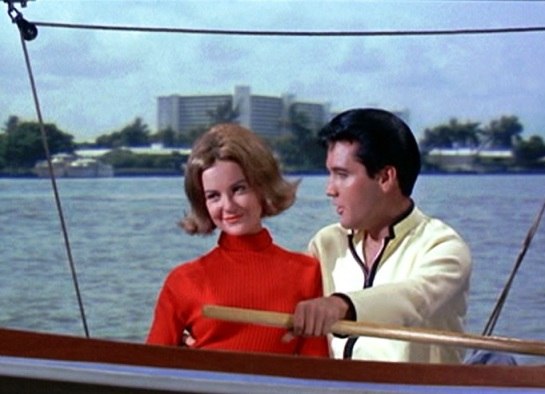 Elvis Sailing in Long-sleeve Shirt - Girl Happy