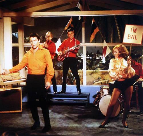 Elvis and Shelly Fabares - I'm Evil