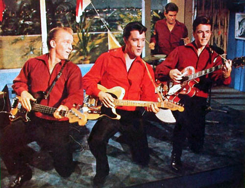 Elvis and the Band - Girl Happy