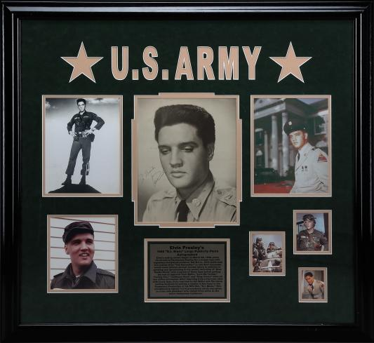 Elvis in U.S. Army