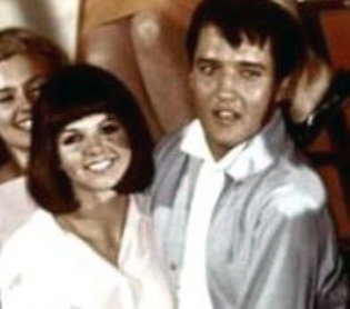 Sandy Ferra with Elvis - 1960