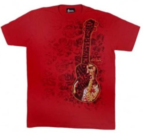 Elvis Presley Aloha From Hawaii Ukelele T-Shirt