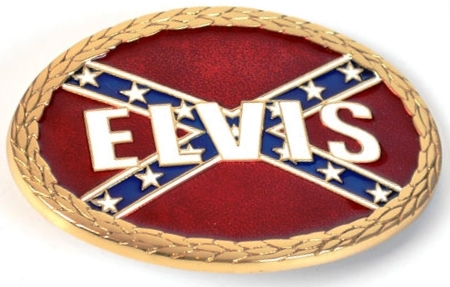 Elvis and the Confederate Flag 2