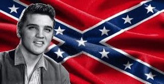 Elvis and the Confederate Flag 4