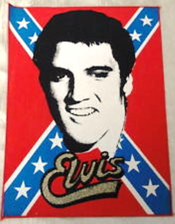 Elvis and the Confederate Flag 7