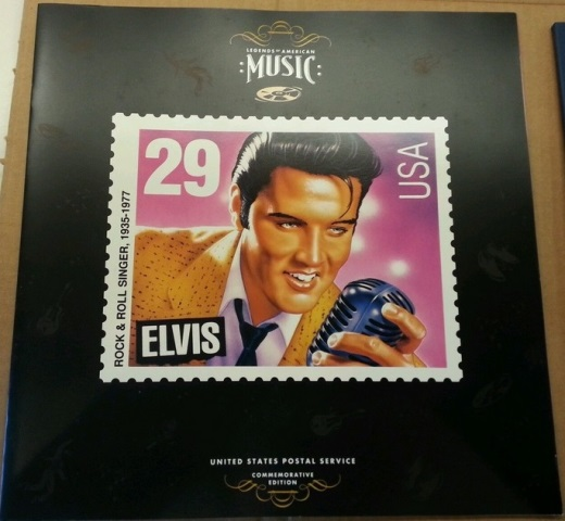 1993 Elvis Stamp Commemorative Album Contents