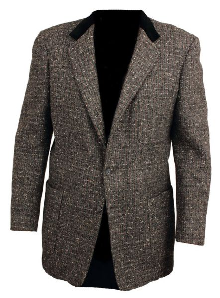 Elvis' Lansky Custom Made Black Wool Jacket