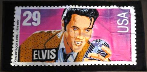 Elvis Stamp Beach Towell