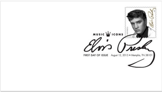 Elvis Stamp First Day Cover - 93 cents