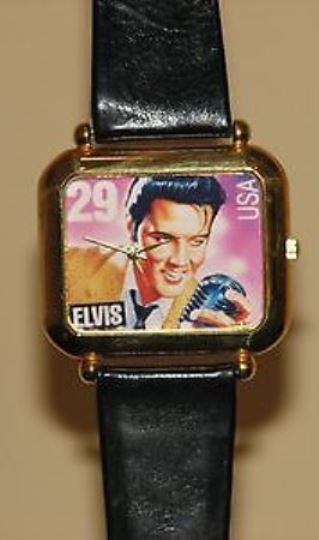Elvis Stamp Watch.