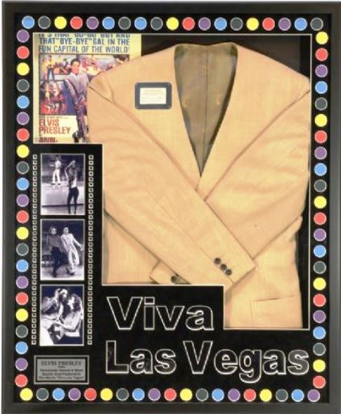 Elvid' Jacket from the Viva Las Vegas Dance Scene with Ann-Margret