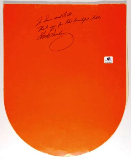 Elvis Signed and Inscribed International Hotel Room Service Menu