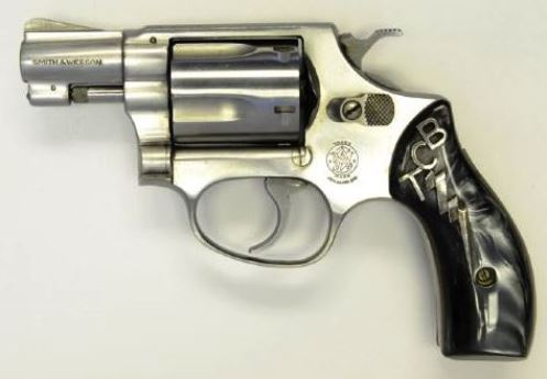 TCB Smith & Wesson .38 Caliber Pistol - Gifted to a TWA Pilot