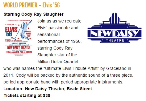 World Premier -- Elvis'56