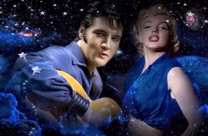 Cosmic Elvis and Marilyn