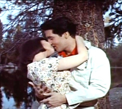 Elvis Kissing Yvonne Craig in Kissin' Cousins