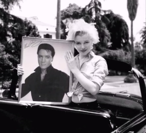 Elvis and Marilyn Big Photo