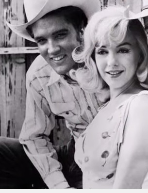 Elvis and Marilyn Cowboy Hat