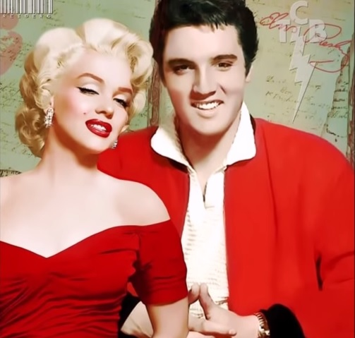 Elvis and Marilyn Red and Red