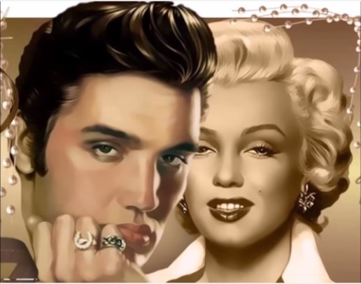 Elvis and Marilyn Rings