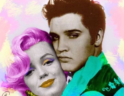 Elvis and Marilyn Strange Colors