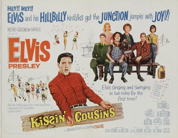 Kissin' Cousins Poster