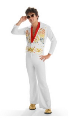 Elvis Adult Jumpsuit
